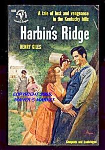 HARBIN'S RIDGE: Lust, Vengeance in Kentucky Hills (Image1)