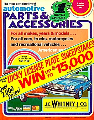 1975 JC Whitney Automotive Parts Catalog (Image1)