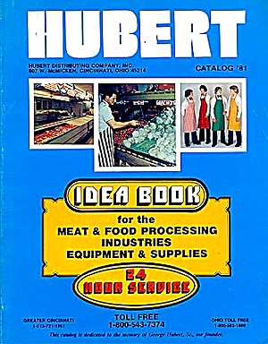 1981 Meat & Food Processing Supplies Catalog