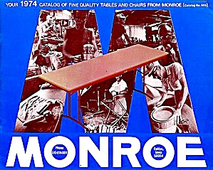 1974 Monroe Tables/chairs Catalog