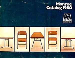 1980 Monroe Tables/chairs Catalog