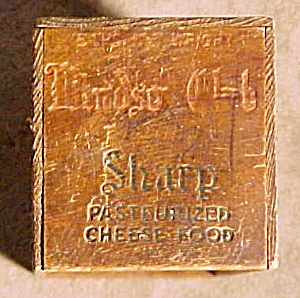 Original WINDSOR CLUB Cheese Box, 1940s (Image1)