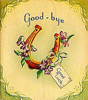 Horseshoe Good-bye, Good Luck (Image1)