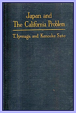 1921 Japan And The California Problem