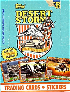 TOPPS DESERT STORM TRADING CARDS SERIES 1, Lot of 32 Packs (Image1)