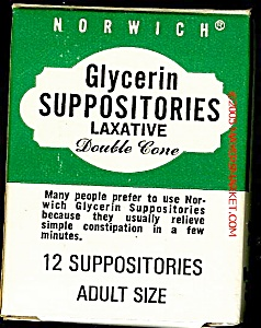 NORWICH Glycerin Suppositories (Image1)