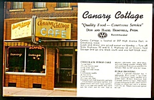 IOWA AAA RESTAURANT: Canary Cottage Caf�, Oskaloosa (Image1)