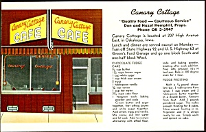Iowa Restaurant: Canary Cottage Café, Oskaloosa