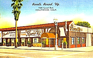 California Restaurant: Rand's Round Up, Hollywood
