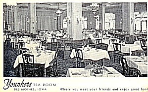 Iowa: Younkers Tea Room, Des Moines
