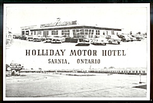CANADA: Holliday Motor Hotel  and DRIVE-IN, Sarnia, Ontario (Image1)