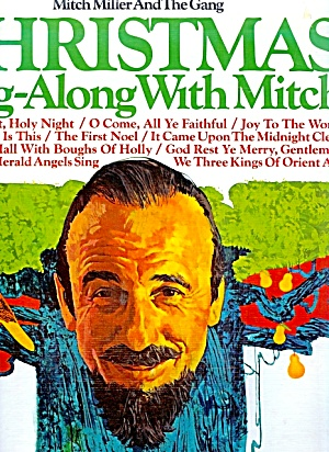 Christmas Sing-Along with Mitch Miller, LP Vinyl Record, 1950s era (Image1)