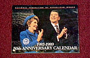 1987-89 Republican Women's Calendar, Reagan
