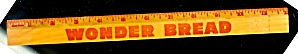 Vintage Wonder Bread Wood Advertising Ruler (Image1)