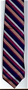 Vintage Resilio Striped Men's Necktie (Image1)