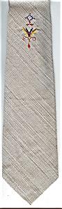 Classy Gray 50s Vintage Necktie (Image1)