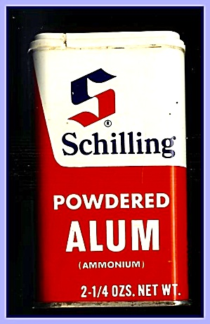 Schilling Powdered Alum Tin, 1970s (Image1)