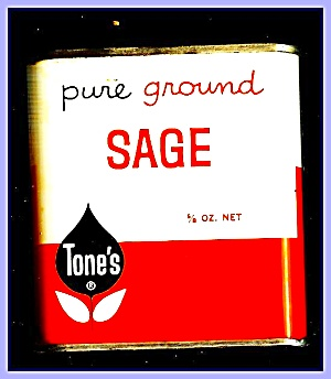 Tone's Ground Sage, All-metal Tin