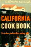 California Cook Book For Indoor and Outdoor Eating