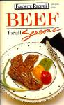 Click here to enlarge image and see more about item 10269: Favorite Recipes: BEEF for All Seasons