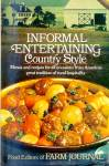 Informal Entertaining Country Style, Farm Journal