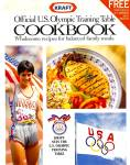 Official 1992 US Olympic Training Table Cookbook, Kraft,  Photos