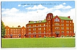Click here to enlarge image and see more about item 1103: WISCONSIN: 1952 Wausau Hospital, Nurses Home