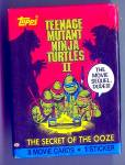 Click here to enlarge image and see more about item 1474: Teenage Mutant Ninja Turtles II Cards and Stickers