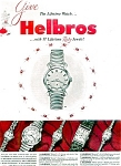 Click here to enlarge image and see more about item 1616: Helbros Watches - 1953 Christmas Ad