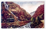 UTAH: Ogden Canyon, Vintage Railroad Cars, Wartime