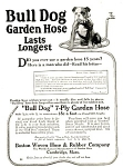 Click here to enlarge image and see more about item 2002: Wonderful! Bull Dog Garden Hose
