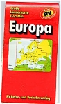 Click here to enlarge image and see more about item 2171: EUROPA - Tourist Map of Europe