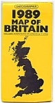 Click here to enlarge image and see more about item 2173: Geographia 1989 Map of Britain