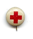 Click here to enlarge image and see more about item 2229: Red Cross Pin