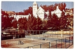 Click here to enlarge image and see more about item 2342: CALIFORNIA: Tennis, Hotel Claremont, Berkeley