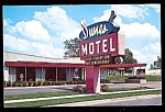 Click here to enlarge image and see more about item 2525: ILLINOIS: Dunes Motel, Highways 12, 20, Chicago