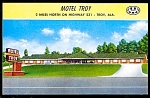 Click here to enlarge image and see more about item 2526: ALABAMA: Motel Troy, Hwy 231, Troy