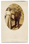 Click here to enlarge image and see more about item 2545: Mom and Dad -- Real Photo