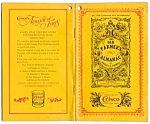 Click here to enlarge image and see more about item 2983: Crisco Advertising, Farmer's Almanac 1967