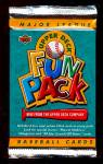 Click here to enlarge image and see more about item 3311: 1993 Mint Upper Deck Fun Packs, Lot of 24 Unopened Packs