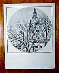 1970s Marshalltown, Iowa Courthouse Print