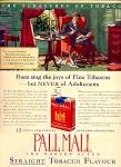 Pall Mall, 15� Package, No Adulterants