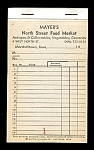 Click here to enlarge image and see more about item 3688: Vintage Grocery Store Account Book
