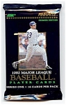 Click here to enlarge image and see more about item 3787: 1992 Score PINNACLE Baseball Cards, Series 1, Lot of 17 Unopened Packs