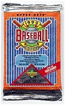 Click here to enlarge image and see more about item 3788: 1992 Upper Deck Baseball Cards, Series I, Lot of 8 Sealed Packs
