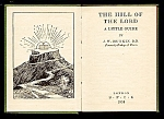 Hill of the Lord, 1954, Prayer Book