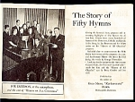 Click here to enlarge image and see more about item 3811r: Story of 50 Hymns, General Mills