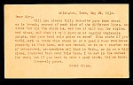 Click here to enlarge image and see more about item 3881: 1934 TRADE SHOE STORE FOR OIL LAND?