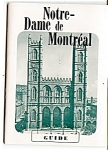 Click here to enlarge image and see more about item 4111: 1950s Notre-Dame de Montreal Guide
