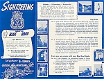 Click here to enlarge image and see more about item 4116: Quebec BLUE BAND Sightseeing Guide 1950s